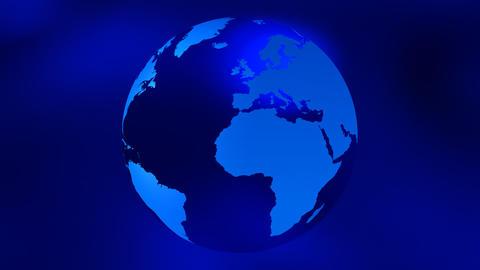 Animated earth globe Footage