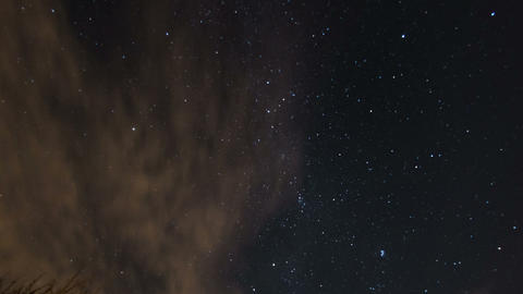 time lapse stars and clouds 11587 Footage