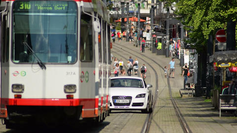tramway close witten city 11592 Footage