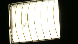 4 K Tungsten Wolfram Halogen Light Closeup 2 dim u Footage