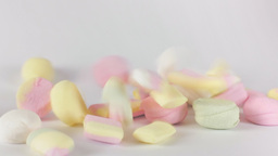 Candies Falling Delicious Slow Motion stock footage