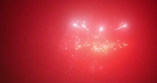 4K, Fireworks, New Years Eve Footage