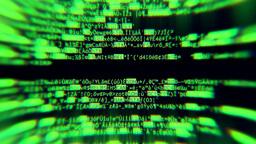 Source code inside cylinder Footage