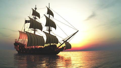 帆船 stock footage