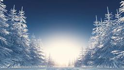 冬の風景 Animation