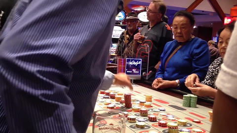 People playing roulette in Starlight casino in New Footage