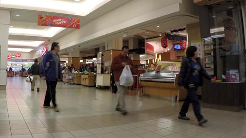 Time lapse of customer buying foods at T&T Superma Footage