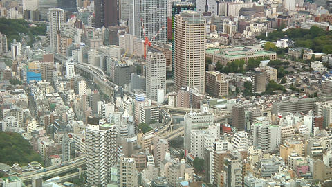 Streets of Tokyo Stock Video Footage