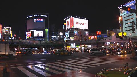 Tokyo street Footage