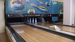 bowling 2 Stock Video Footage