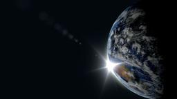 Earth sunrise Stock Video Footage