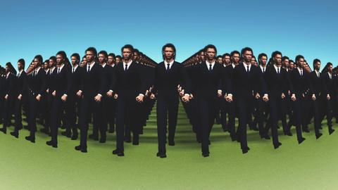 Clone People Animation