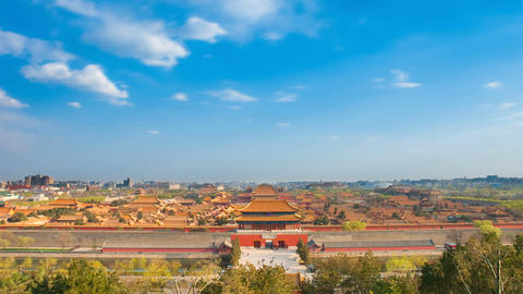 Forbidden City, Beijing, China Footage