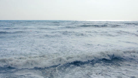 Stormy Sea Stock Video Footage