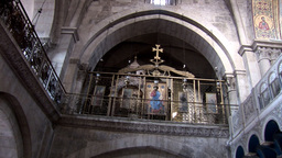 holy sepulcher 5 Stock Video Footage