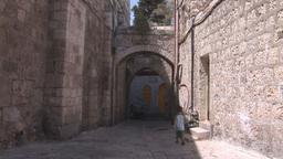 jerusalem street 2 Stock Video Footage