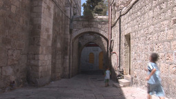 jerusalem street 2 Stock Video Footage