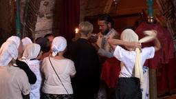 orthodox mass 1 Stock Video Footage