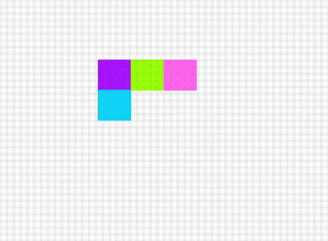 color square Stock Video Footage