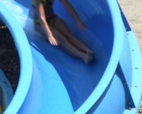 water park children Stock Video Footage