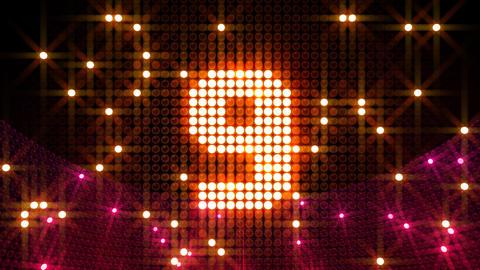Countdown MCCr3 HD Stock Video Footage