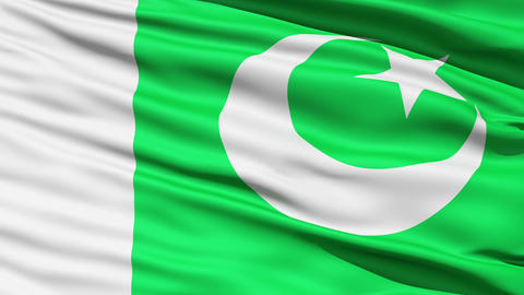 Waving Flag Of Pakistan Stock Video Footage