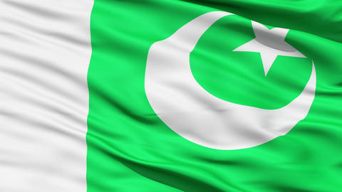 Waving Flag Of Pakistan Stock Video Footage