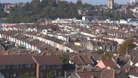 Bristol old town Stock Video Footage