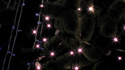 christmas light Stock Video Footage
