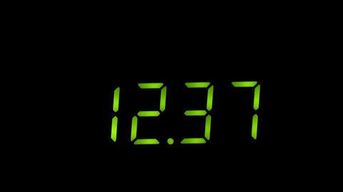 Digital timer timelapse Live Action