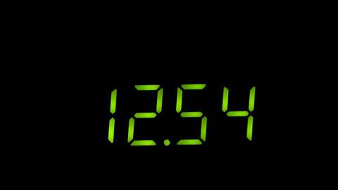 digital timer Stock Video Footage
