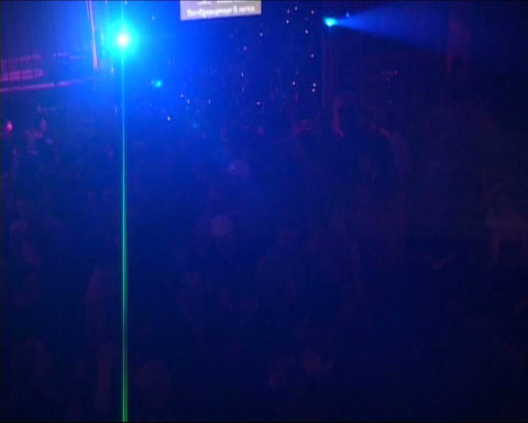 nightclub flash light Footage
