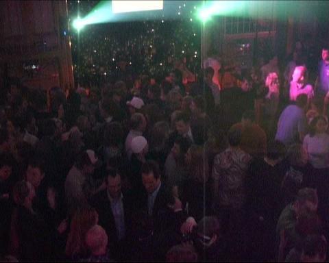 nightclub flash light Stock Video Footage