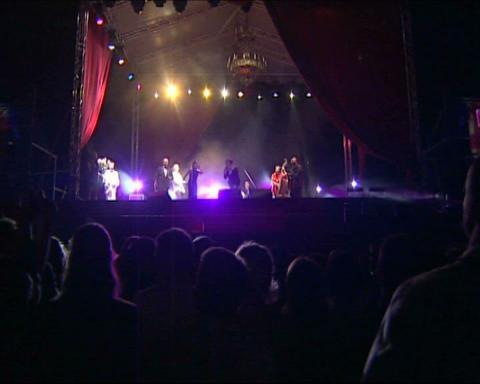 scene concert Footage