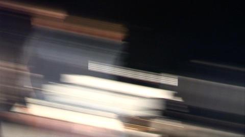 flash light real shooting Stock Video Footage