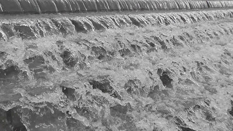 fountain cascade Stock Video Footage