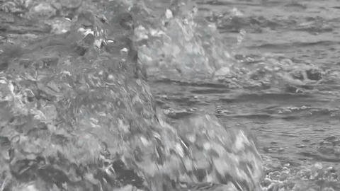 fountain close up Stock Video Footage