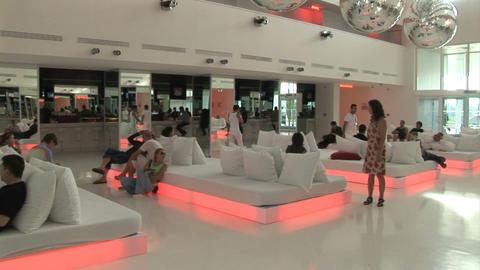 hotel hall Stock Video Footage