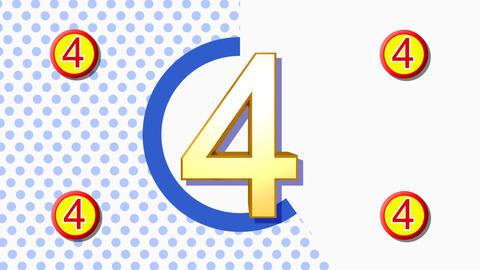 CountDown Clock 10B3 HD Animation