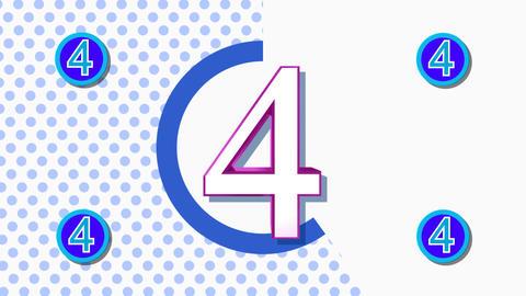 CountDown Clock 10E3 HD Animation