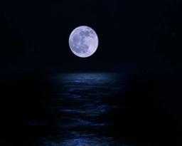 moon water Stock Video Footage