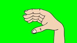TALKIN HAND Stock Video Footage