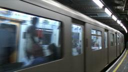 London Underground 2 Stock Video Footage