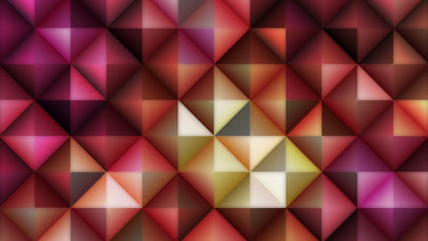 Glowing Mosaic Abstract Background Animation stock footage