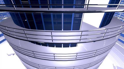 4 K Ultra Modern Data Center 3 D Animation 6 Animation