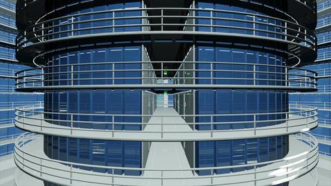 Ultra Modern Data Center 3 D Animation 1 Animation