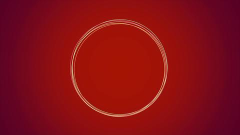 円ライン赤 Animation