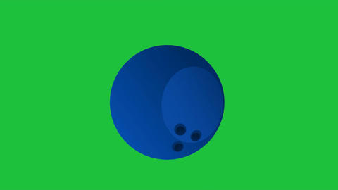 Rolling Bowling Ball: Looping + Matte Animation