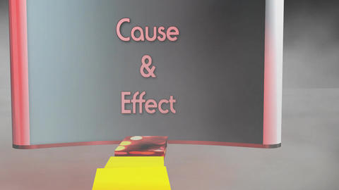 """Cause & Effect"", Domino Animated Sequence Animation"