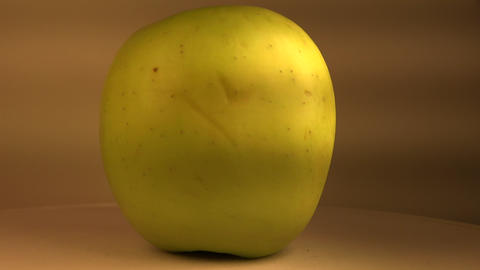 The Typical Green Apple stock footage